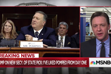 What Pompeo as Secy. of State could mean for Iran, North Korea