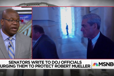 Why are (some) Republicans suddenly concerned about protecting Mueller?