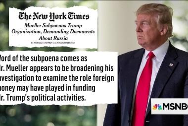 Mueller finally crosses Trump's 'red line' ?