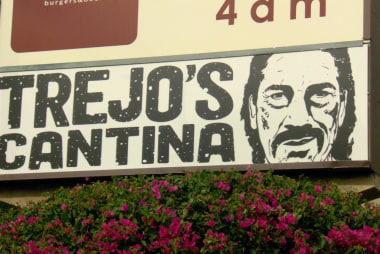 Danny Trejo owns several restaurants around Los Angeles