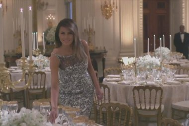Trump says he's too busy to get Melania a birthday gift