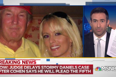 Judge delays Stormy Daniels' lawsuit against President Trump and Michael Cohen