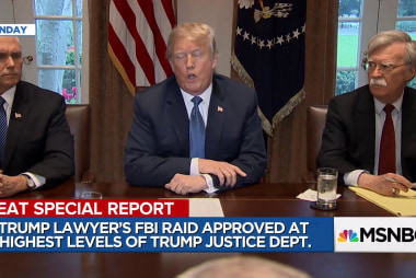 Melber: Why the FBI raid on Michael Cohen poses new danger for Trump