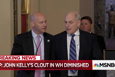 John Kelly has reportedly lost clout inside Trump's White House