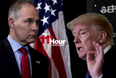 Trump on scandal-plagued EPA boss: Pruitt's done a fantastic job