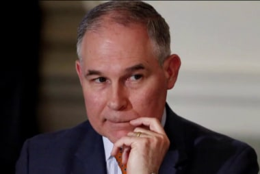 NYT: EPA staff sidelined after raising concerns on Pruitt's spending