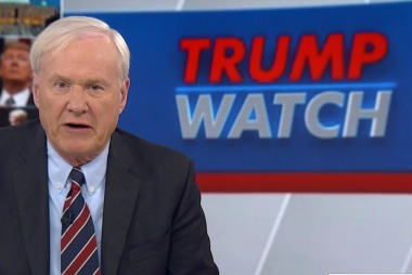 Matthews: Trump isn't draining the swamp