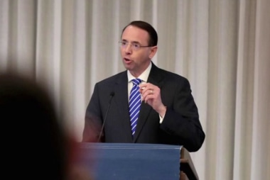 WaPo: House conservatives draw up impeachment against Rosenstein