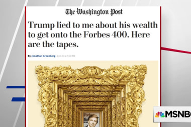 WaPo: Trump lied to get on Forbes 400