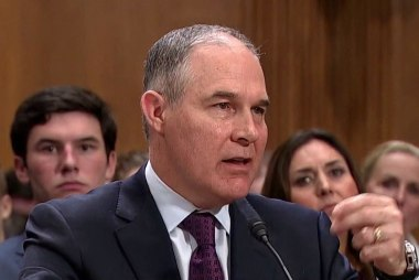 AP: Pruitt fighting for his job in meeting with Trump