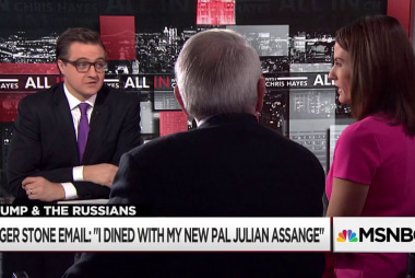 Roger Stone claimed he met Julian Assange in August 2016
