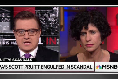 Scott Pruitt's sputtering defense of ethics scandals