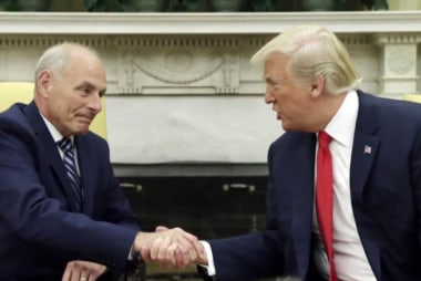 John Kelly: It's 'total BS' I called Trump an idiot