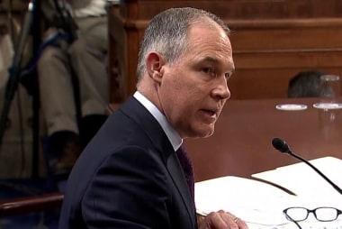 Trump's EPA chief Scott Pruitt engulfed in scandal