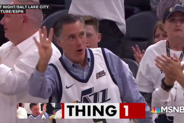 Mitt Romney demonstrates his passion for Utah 'sport'