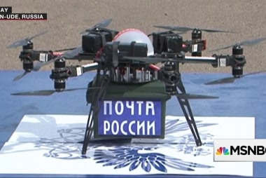 The postal service drone race with Russia has begun