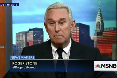 Malcolm Nance: 'Roger Stone wanted to be a player'