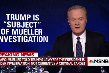 Lawrence on Trump, Mueller and 'subject' v. 'target'