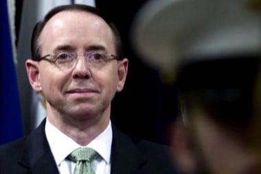 Rpt: Sessions threatens to resign if Trump fires Rosenstein