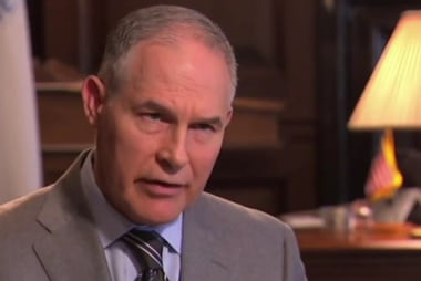 Trump denies considering Scott Pruitt to replace AG Sessions