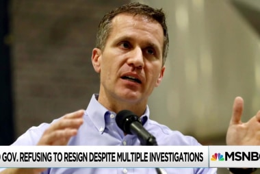 New felony charges filed against Missouri governor Greitens
