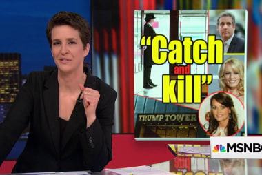 National Enquirer pay-off eyed as 'catch and kill' to help Trump