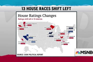 Political forecasters adjust toward blue amid Democratic wins