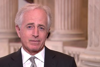 Sen. Corker: 'Not a sure thing' Trump will run in 2020