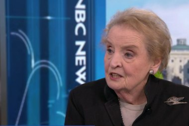 Albright questions Trump administration's commitment to human rights
