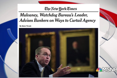 Rodgers: Mulvaney controversy raises legal questions about possible bribery