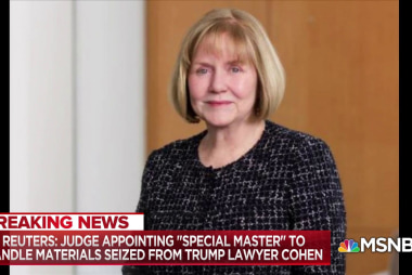 Judge appoints 'special master' to review materials seized from Michael Cohen