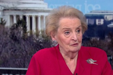 Madeleine Albright: I'm warning the American public