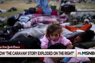 Caravan story explodes, but some on right push back