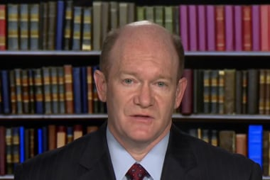 Sen. Coons: I wanted to show kindness, respect in vote