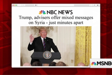 Trump, advisers offer mixed messages on Syria