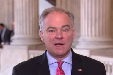 Trump is clearly panicked after raid: Sen. Kaine