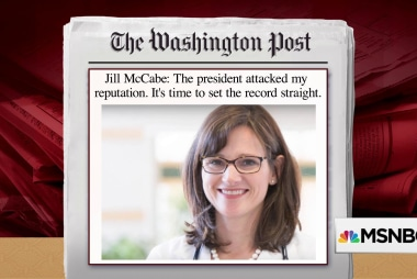 Jill McCabe responds to Trump's attacks in op-ed