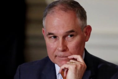 Pruitt proves 'unfit for public service': Schmidt