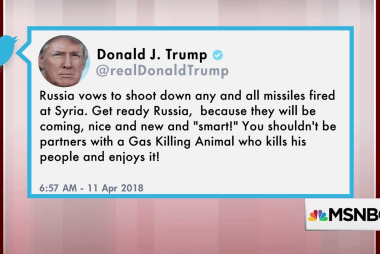 Trump warns Russia about shooting down US missiles