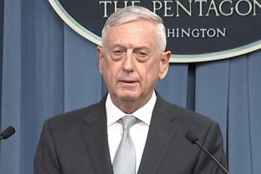 Mattis: 'We have sent a clear message to Assad'