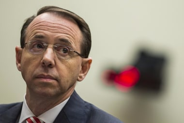 Sources says Deputy Atty. General Rosenstein is prepared to be fired