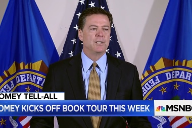 Former FBI official: Comey book puts him in 'same gutter' as Trump