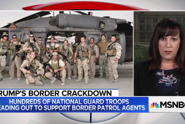 National Guard Veteran: Deploying troops to border is a 'waste'