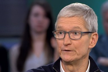 Tim Cook on vetting controversial content, like NRA-TV in the app store