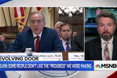 Vet: Shulkin fired by those who want to take 'wrecking ball' to VA