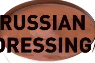 Condiment collusion: Russian dressing or Mayo-chup?
