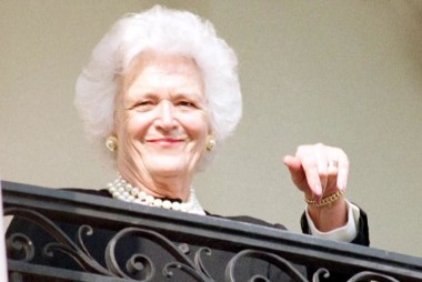 Former First Lady and advocate for literacy Barbara Bush dies at 92