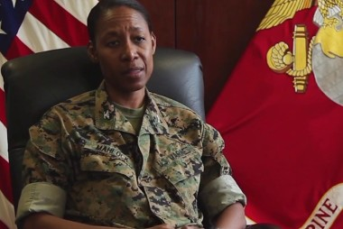 #GoodNewsRuhles: First Female African-American Marine Corp General