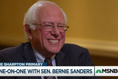 Rev. Al goes one-on-one with Sen. Bernie Sanders
