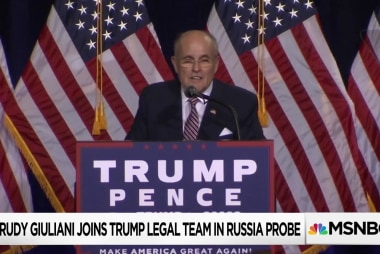 Is Rudy Giuliani Trump's best, last hope for legal team?